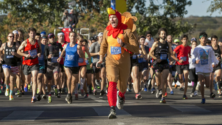 Ready to turkey trot? This 5K training plan will get you there by Thanksgiving