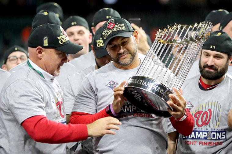 Image: World Series - Washington Nationals v Houston Astros - Game Seven