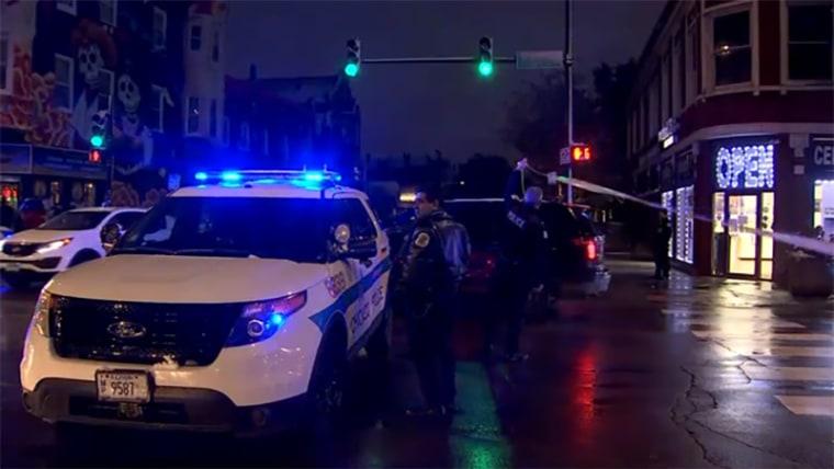 Image: Police, child shooting