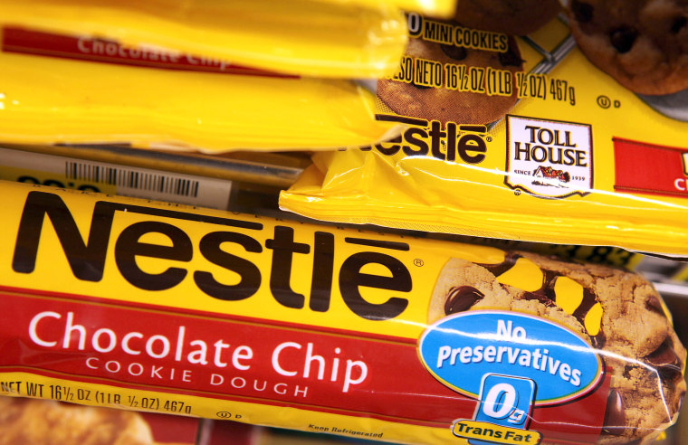 Nestle Recalls Toll House Cookie Dough Products Due To Sickness Cases