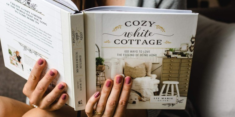 Best Book Gifts - Cozy White Cottage Book