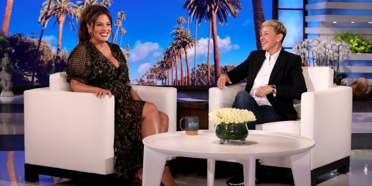 Pleasing Ashley Graham Reveals Babys Gender And Due Date On Ellen Ocoug Best Dining Table And Chair Ideas Images Ocougorg
