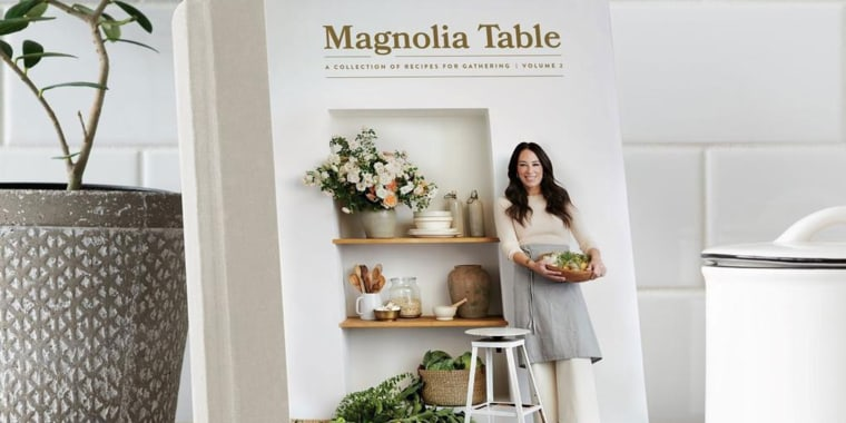Joanna Gaines revealed a release date for her second cookbook.