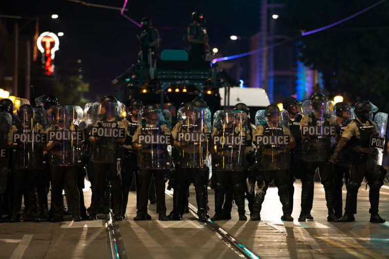 Image: St Louis Police Line