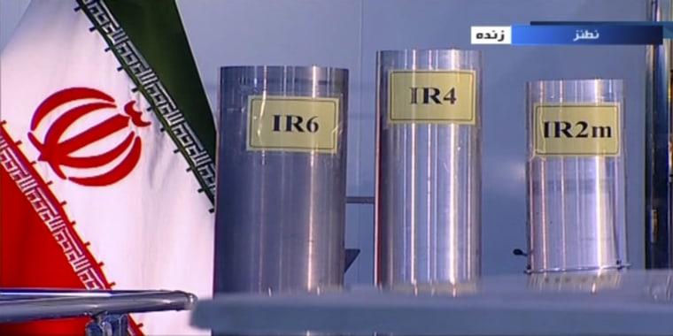 Image: Domestically built centrifuges in Natanz, Iran