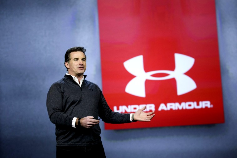 Image: Kevin Plank, CEO and founder of Under Armour, at the Consumer Electronics Show in Las Vegas in 2017.