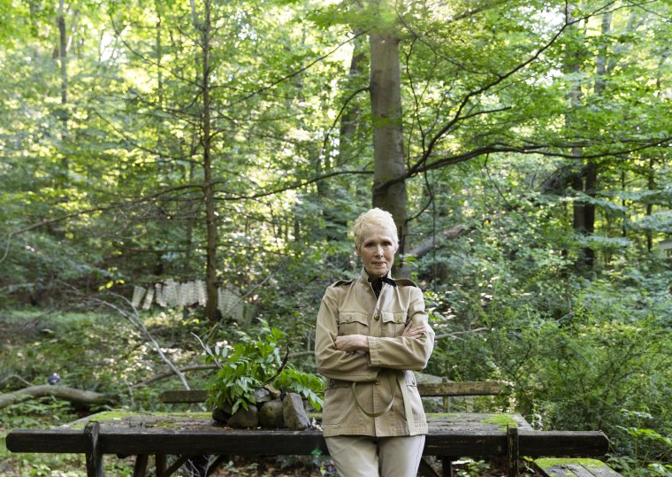 E. Jean Carroll at her home in Warwick, N.Y.