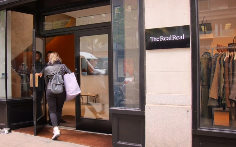 IMage: The RealReal is an online luxury consignment store.