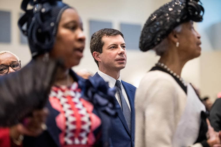 Image: Presidential Candidate Pete Buttigieg Campaigns In South Carolina