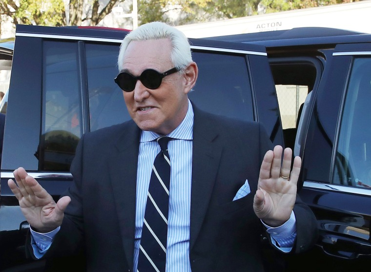 Image: Trial Continues For Trump Associate Roger Stone