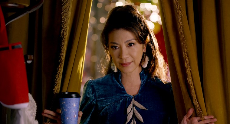 "Image: Michelle Yeoh in ""Last Christmas."""