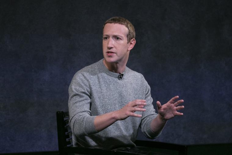 Image: Facebook CEO Mark Zuckerberg in New York