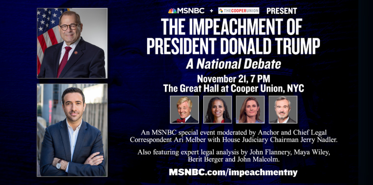 The Impeachment of President Donald Trump - A National Debate