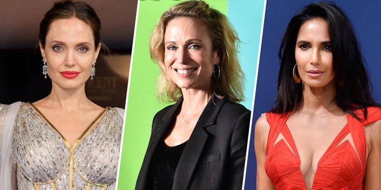 Image: Angelina Jolie, Amy Robach, Padma Lakshmi