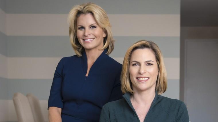 Image: Susan del Percio and Adrienne Elrod