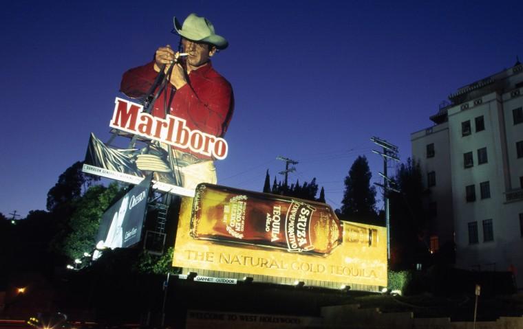 Marlboro Cowboy Billboard