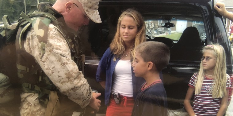 When Jeff Lee returned home after being injured in the Iraq War, he struggled to connect with his family. He credits his wife with helping his family as he grappled with trauma.