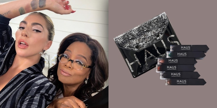 Oprah loves Lady Gaga's new makeup line.