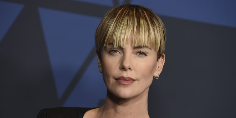 Charlize Theron Has A New Vibe With New Pixie Cut See