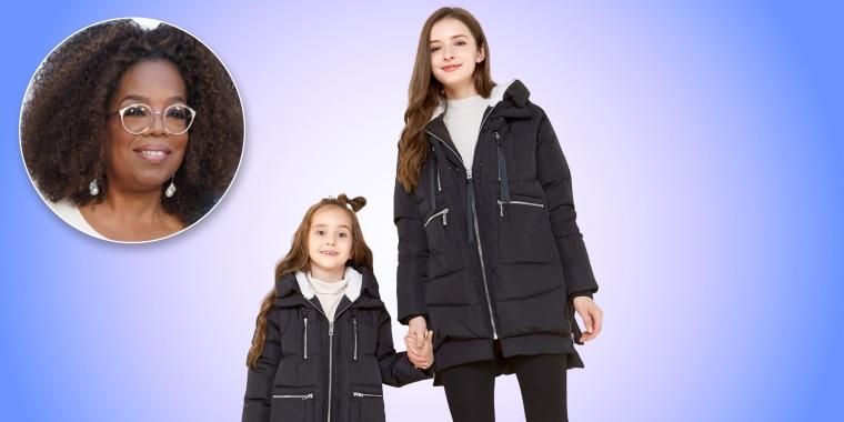 Oprah is a huge fan of this popular coat.