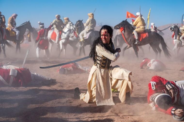 """Devika Bhise in """"Warrior Queen of Jhansi"""""""