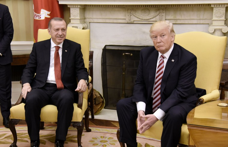 Blaise Misztal Trump is hosting Turkey's Erdogan to show off his dealmaking. But he's going to get played.