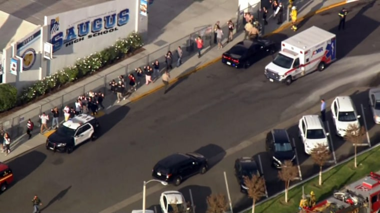 Santa Clarita, California, high school shooting leaves multiple people injured, suspect located