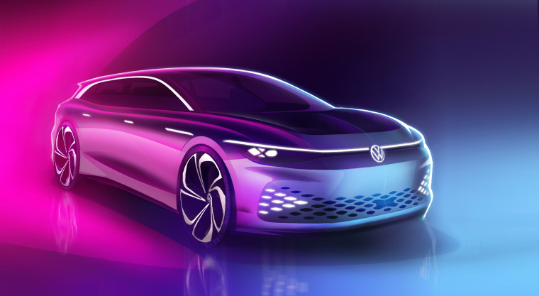 Volkswagen will debut the ID. SPACE VIZZION concept.