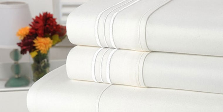 Bamboo Comfort's four-piece luxury sheet sets are currently on sale for less than $30.
