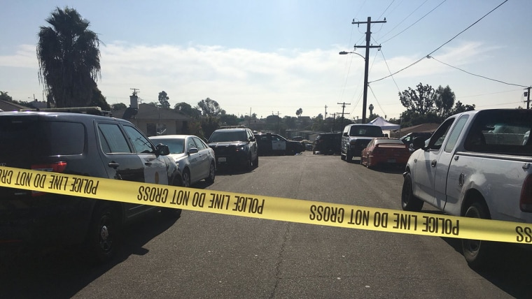 Image: Shooting in San Diego neighborhood