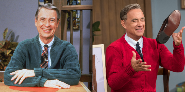 According to Ancestry.com, Tom Hanks and Fred Rogers are distant cousins.
