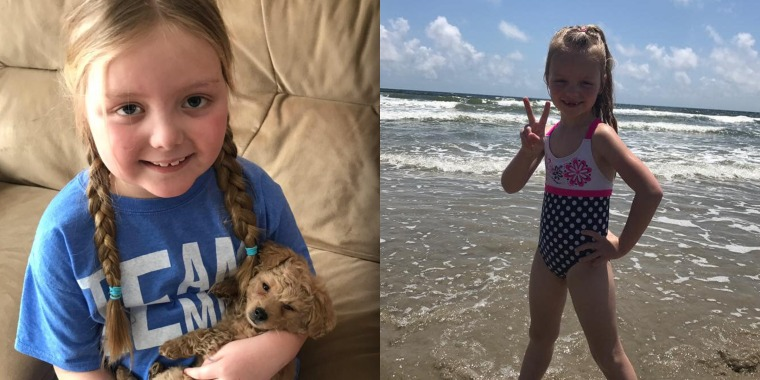 After getting support from dogs and humans around the world, young girl with brain cancer dies
