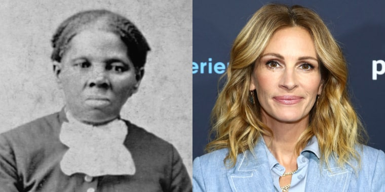A Hollywood movie studio executive once suggested that Julia Roberts could play Harriet Tubman, the 19th century escaped slave who is seen as an African-American icon.