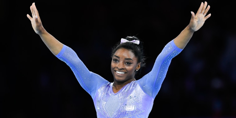 Simone Biles watched 'Cheer' — and now she's ready to join the Navarro squad!