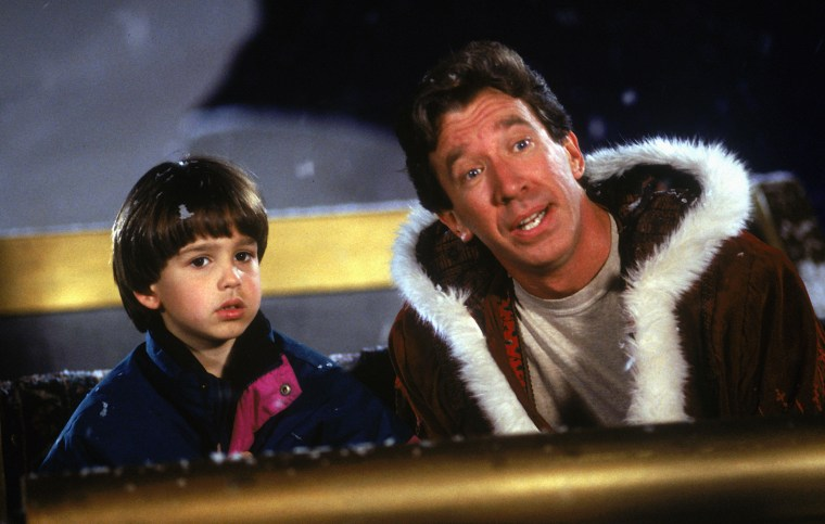 11 ноября 1994 г .; Торонто, Онтарио, Канада; Актер ТИМ АЛЛЕН в роли Скотта Кэлвина в фильме «Санта-Клаус». Режиссер Джош Паскуин.