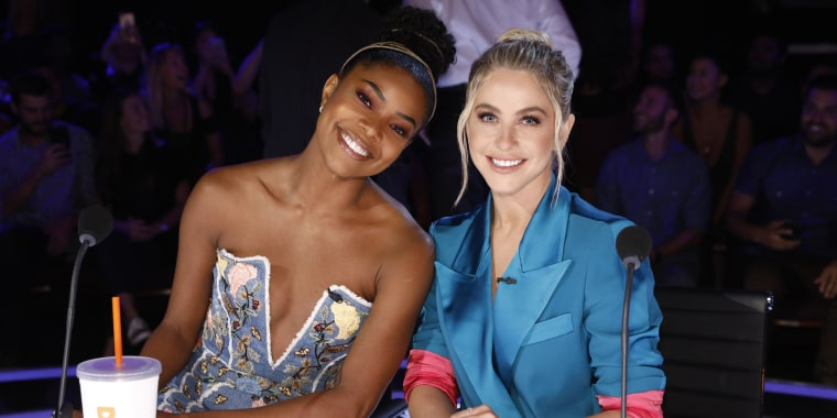 Gabrielle Union and Julianne Hough