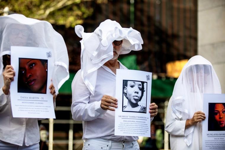 Image: Transgender rights activists