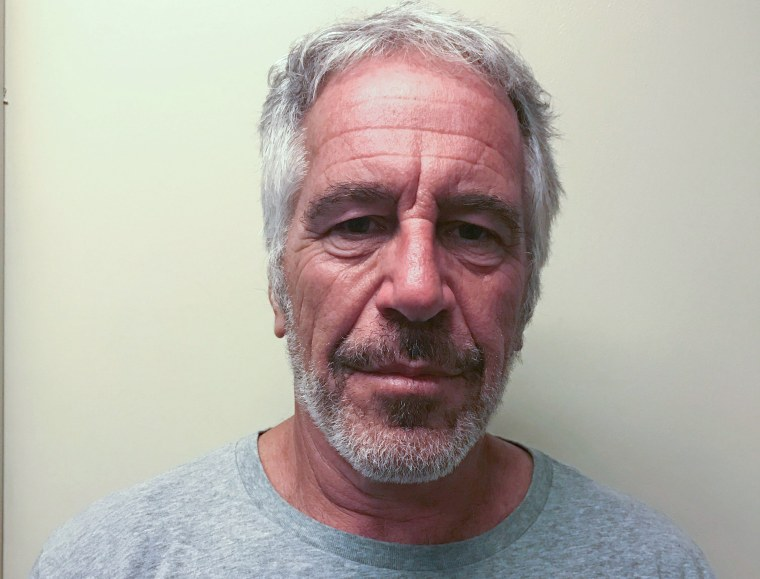 Image: Jeffrey Epstein in 2017