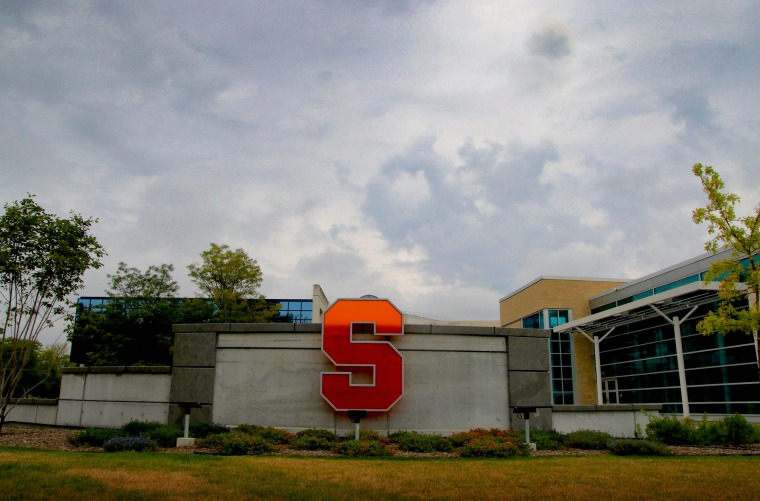 Image: The Syracuse University campus in New York in 2015.