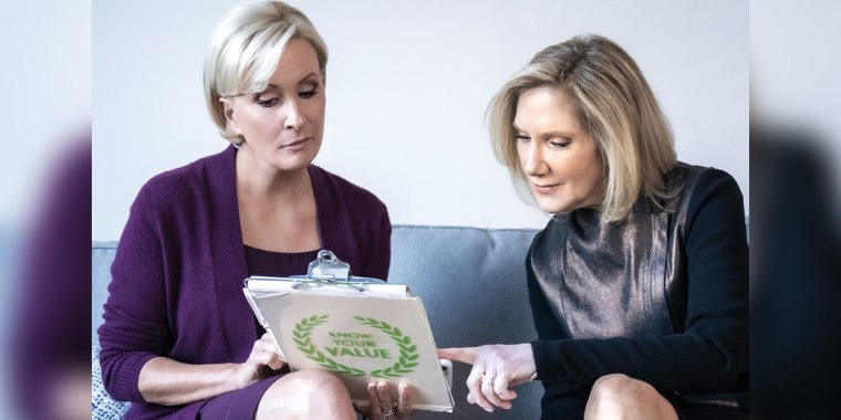 """Know Your Value founder and """"Morning Joe"""" co-host Mika Brzezinski, left, and NBC News health editor Dr. Madelyn Fernstrom, right."""
