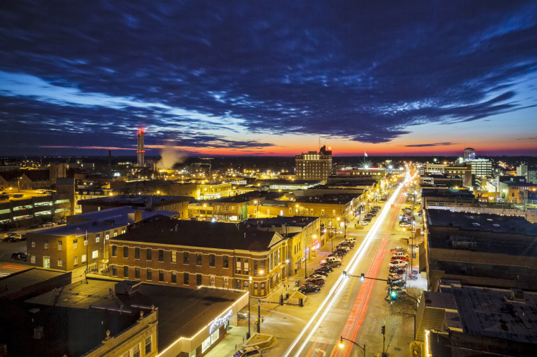 Image: Downtown Columbia, Mo.