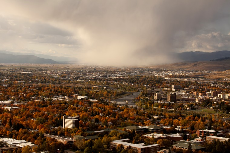 Image: Autumn in Missoula, Mt.