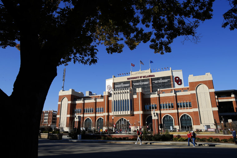 Image: The Gaylord Family Oklahoma Memorial Stadium in Norman on Nov. 9, 2019.