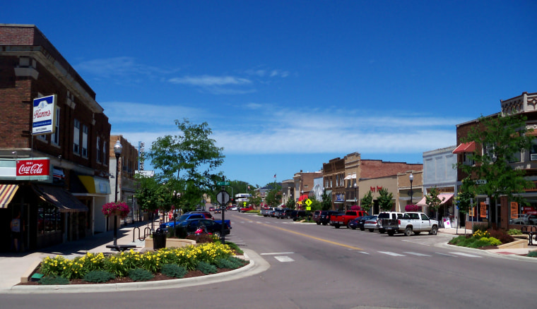 Image: Main Street in Brookings, S.D.
