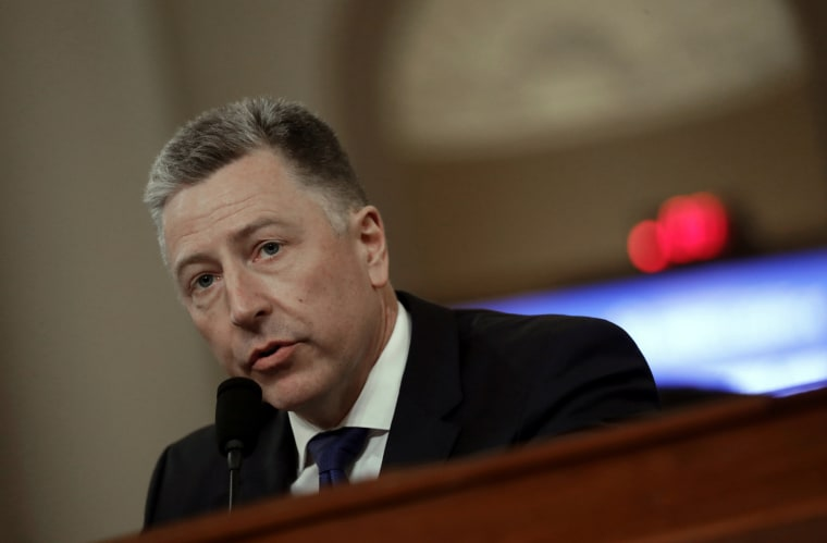 Kurt Volker, citing Biden link, becomes latest witness to revise testimony