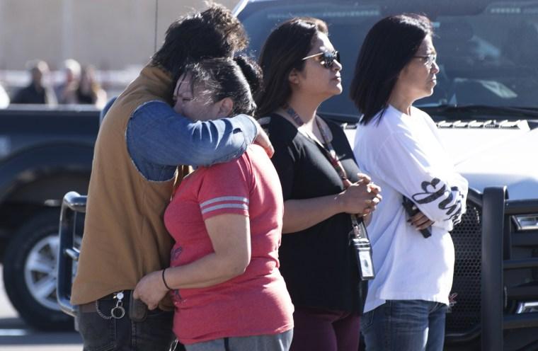 Image: Three Shot And Killed At An Oklahoma Walmart