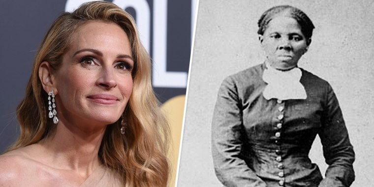 Image: Julia Roberts and Harriet Tubman.