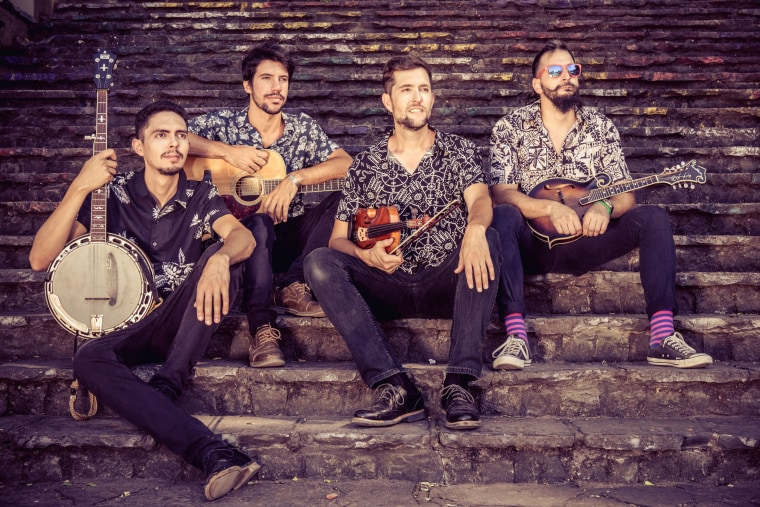 Bluegrass with a little Buenos Aires? That's Che Apalache, and it's up for a Grammy