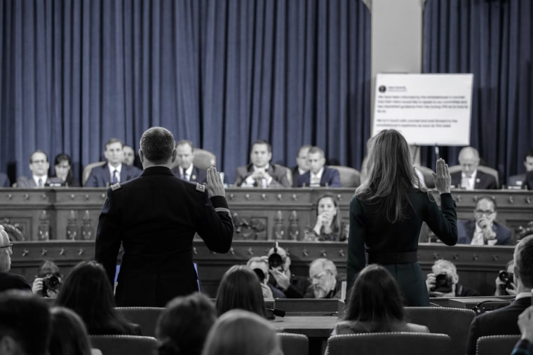 Image: House Intelligence Committee Continues Open Impeachment Hearings