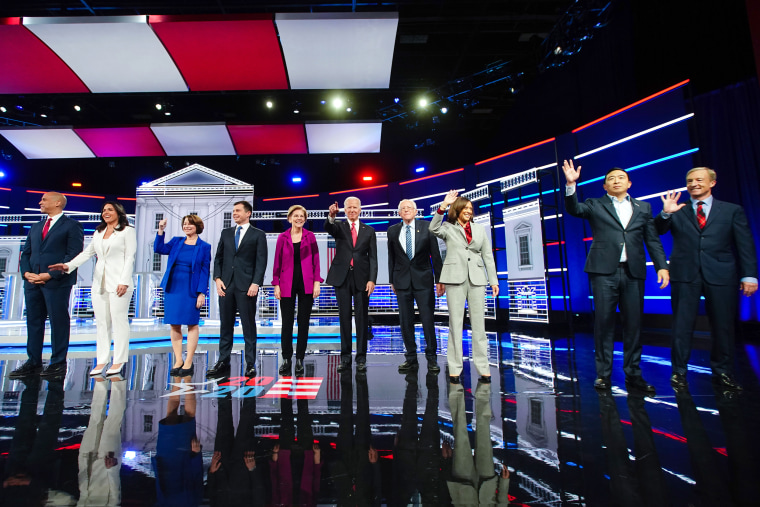 Candidates Attend Fifth 2020 Democratic Presidential Debates